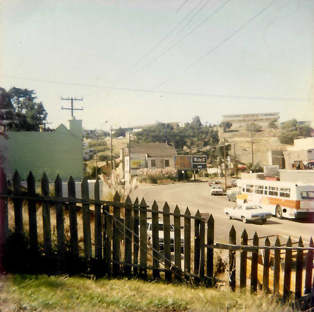 1984 image of Innes and Hunters Point Blvd by Cab Covay